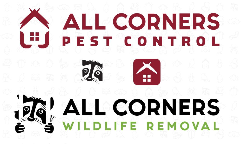 All Corners Pest Control logos